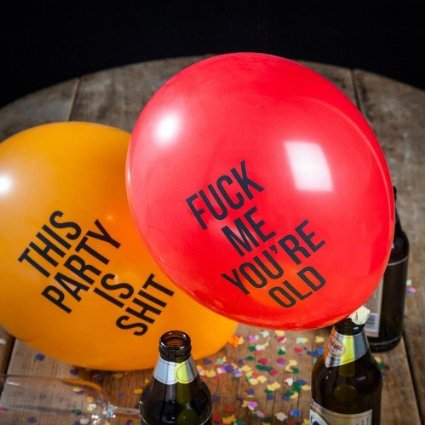 Abusive Balloons by Firebox