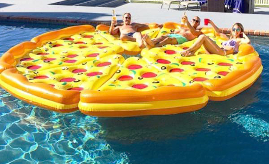 Amazing Inflatable Pizza Slice Float Which Inflatable