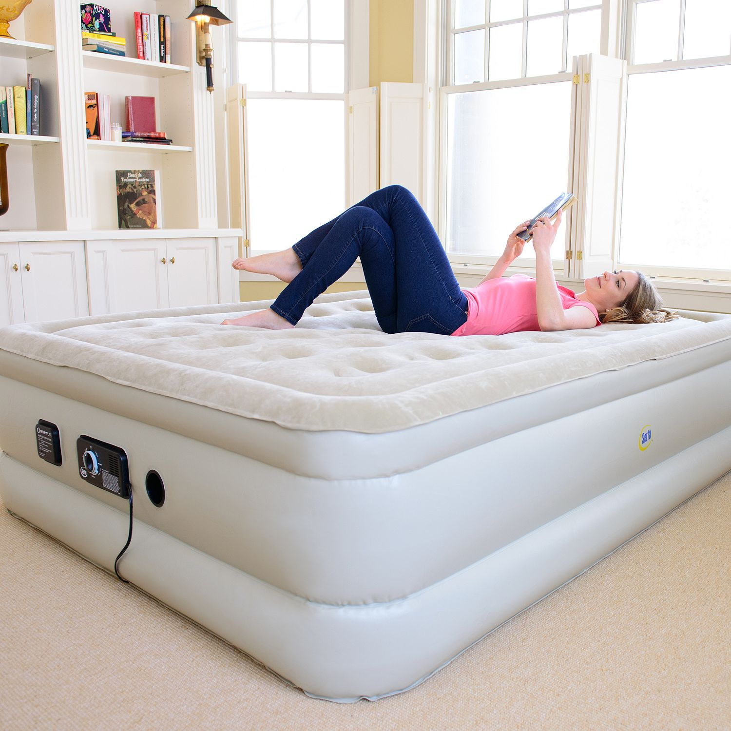 Best queen size inflated air mattress which inflatable Mattress queen size