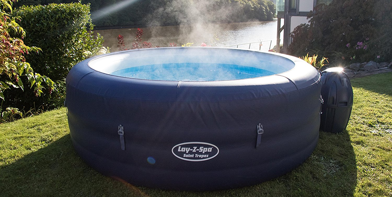 Lay-Z-Spa Saint Tropez AirJet Inflatable Hot Tub