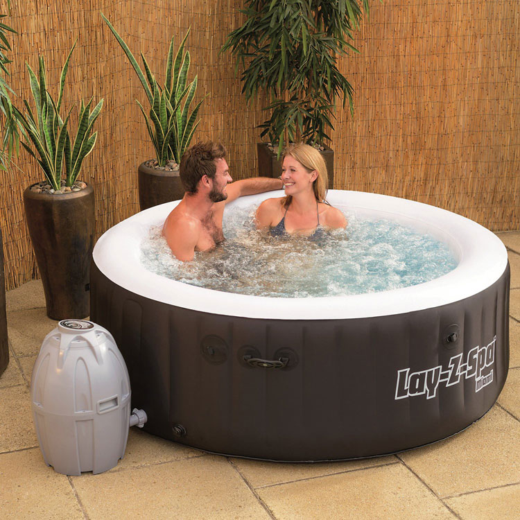which lay z spa inflatable hot tub we review the best spas. Black Bedroom Furniture Sets. Home Design Ideas