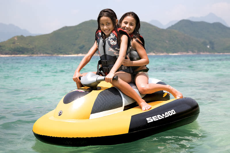 The Sea-Doo Inflatable Water Scooter