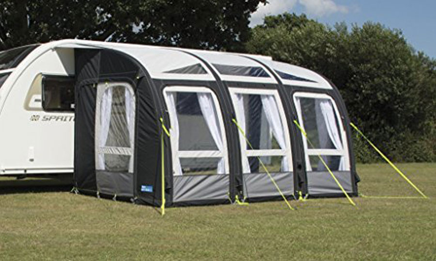 Trigano Luna Inflatable Caravan Porch Awning
