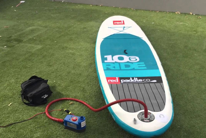 Hydro Force 10ft Inflatable Stand Up Paddle Board Review