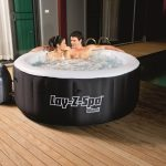 bestway lay z spa paris inflatable hot tub review 2016. Black Bedroom Furniture Sets. Home Design Ideas