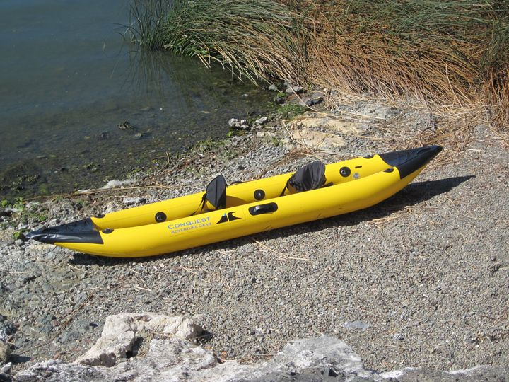 Conquest Vista inflatable kayak