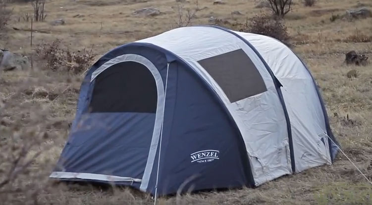 Wenzel Vortex 4 Tent Review & Wenzel Vortex 4 Person Inflatable Tent Review - Which Inflatable?