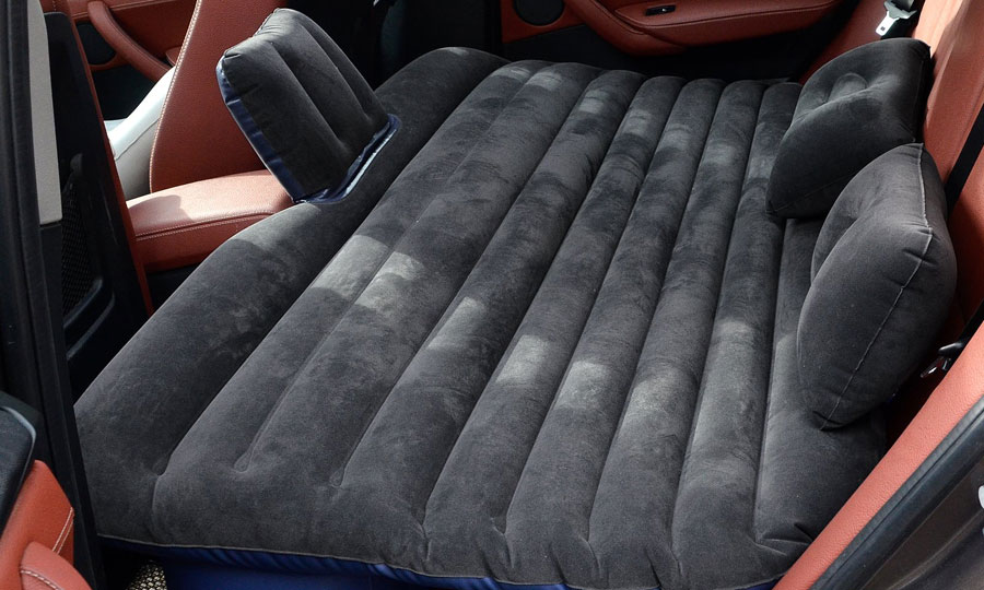 Ablevel Car Travel Inflatable Mattress Flocking Air Bed
