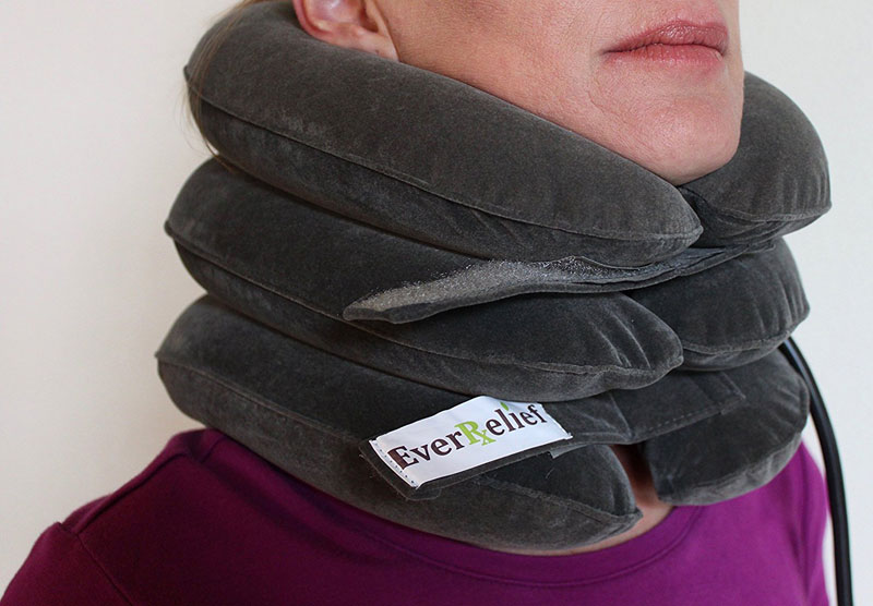 Best Inflatable Neck Traction Device Pillows
