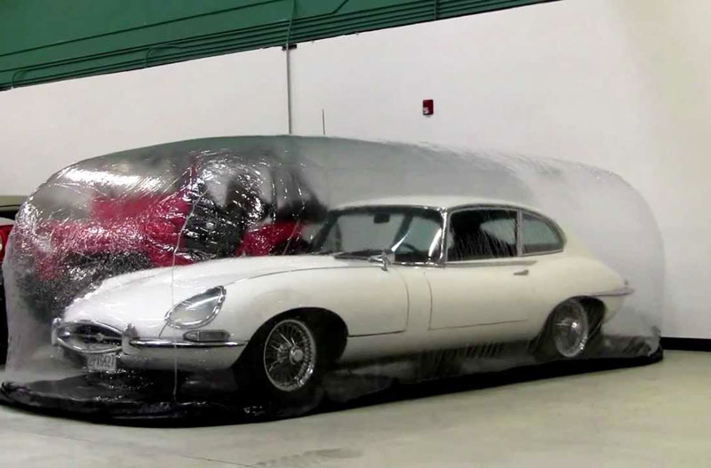 Amazing Car Capsule and Bubble for Protecting your Vehicle