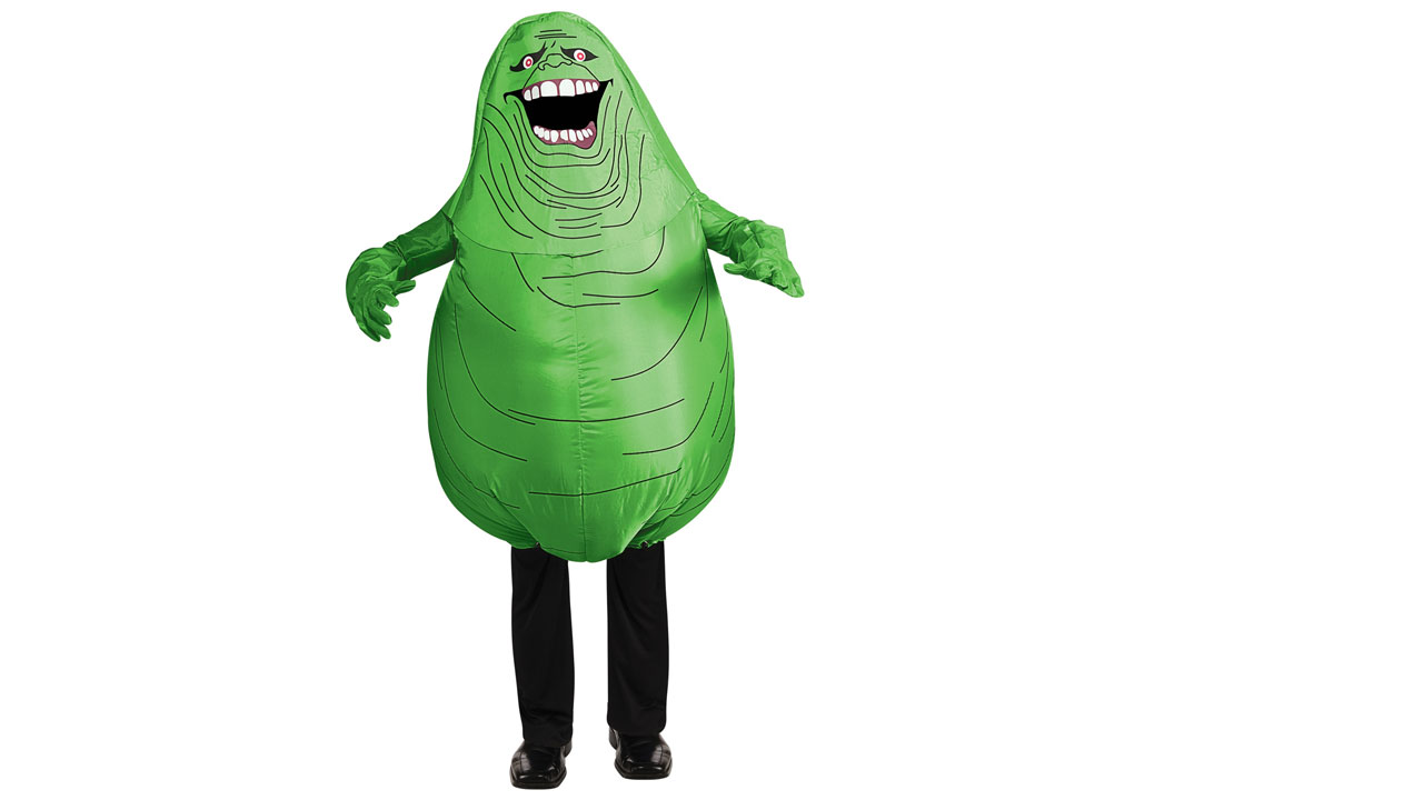 Inflatable Slimer Kids Costume