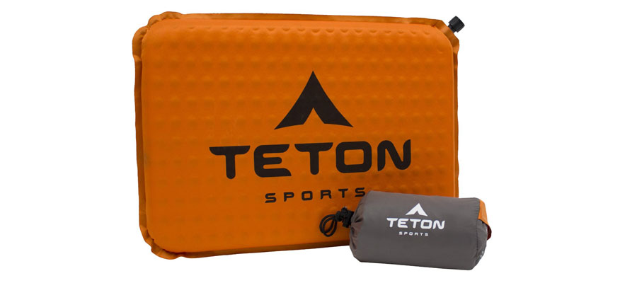 TETON Sports ComfortLite Self Inflating Seat Cushion