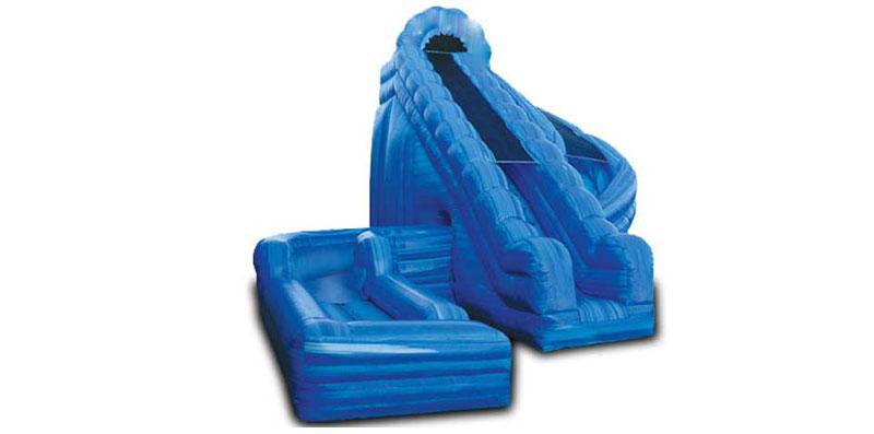 Corkscrew Adult Inflatable Water Slide