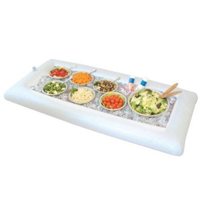 Greenco Inflatable Buffet and Salad Serving Bar