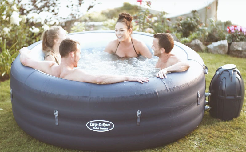 Lay-Z-Spa Saint Tropez Hot Tub