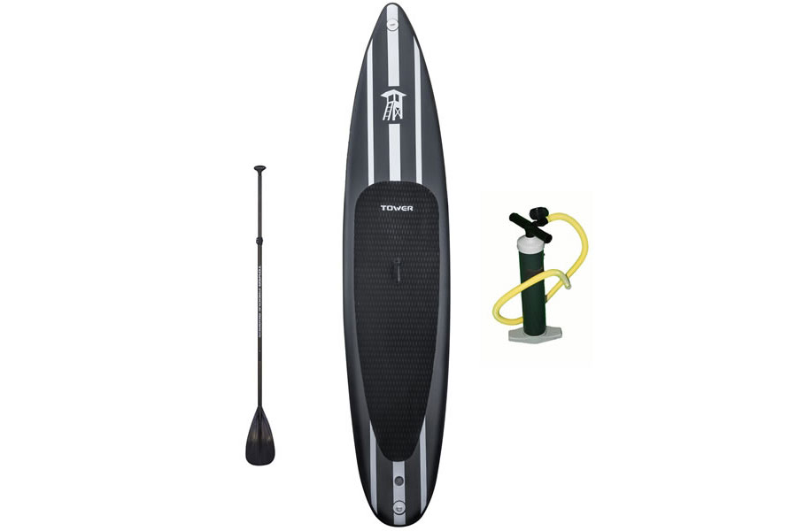 "iRace 12'6"" Inflatable SUP Package"