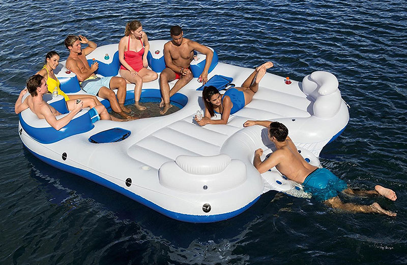 Bestway CoolerZ Catamaran Inflatable Floating Island