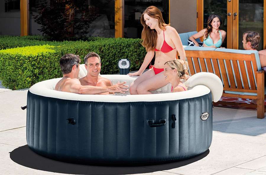 Intex pure spa 6 person inflatable hot tub review which for Most comfortable tub reviews