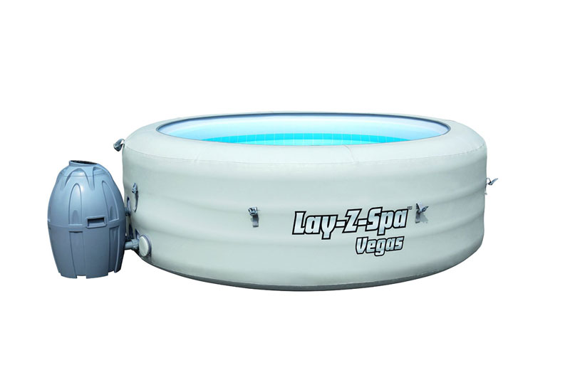 lay z spa vegas inflatable hot tub review a summer must. Black Bedroom Furniture Sets. Home Design Ideas