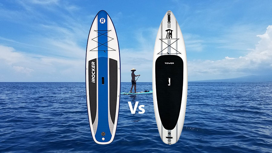 iRocker Vs Tower Inflatable SUP