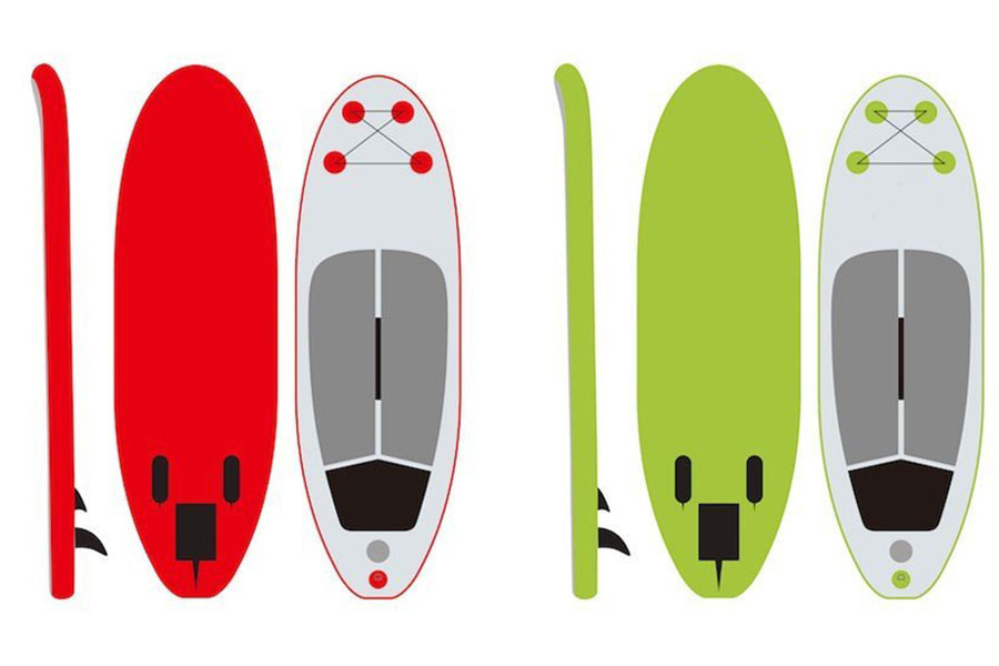 Ibigbean inflatable SUP board