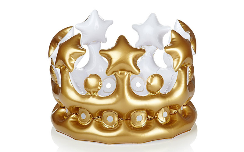 Inflatable Crown Photo Booth Selfie Prop