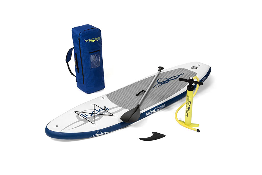 Lucky bums blue inflatable stand up paddle boards