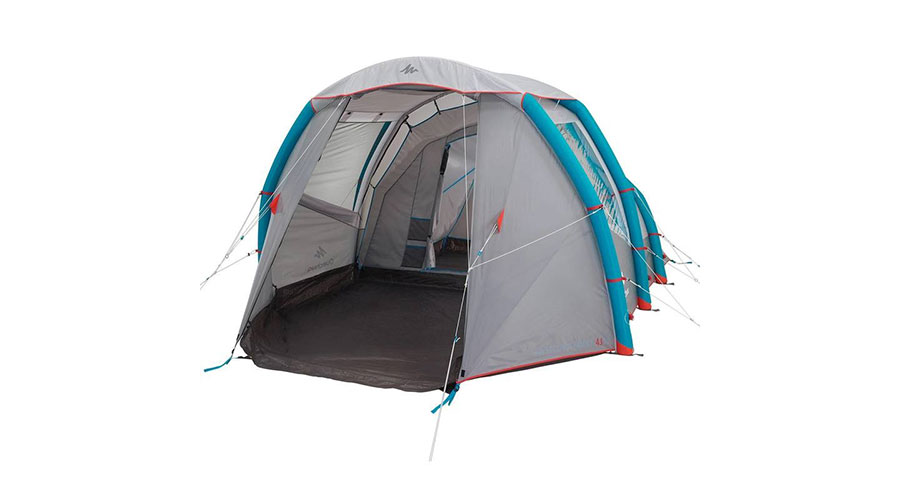 QUECHUA AIR SECONDS FAMILY 41 XL With A Tall Living Room