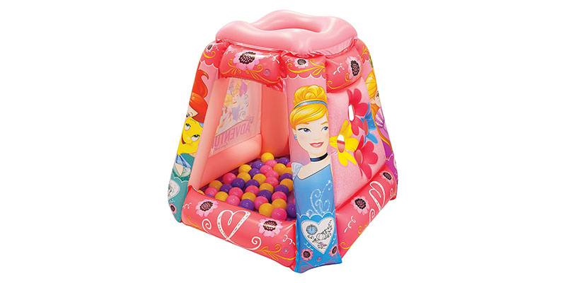 Disney Princess Fearless Dreamer Playland Set with 20 Balls