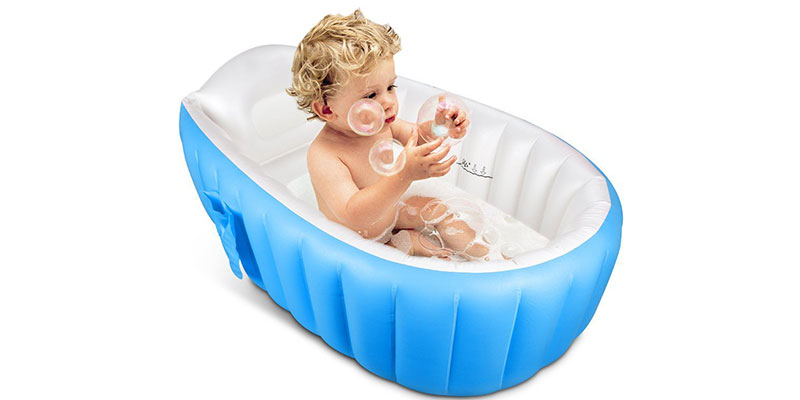 Inflatable Baby Bathtub by Topist