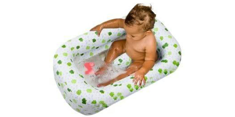Inflatable Bath Tub Froggie Collection by Mommy's Helper
