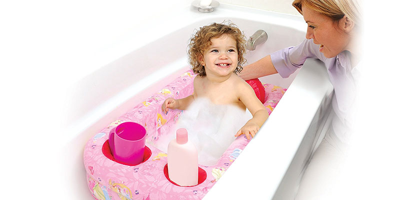 Princess Inflatable Safety Bathtub by Disney