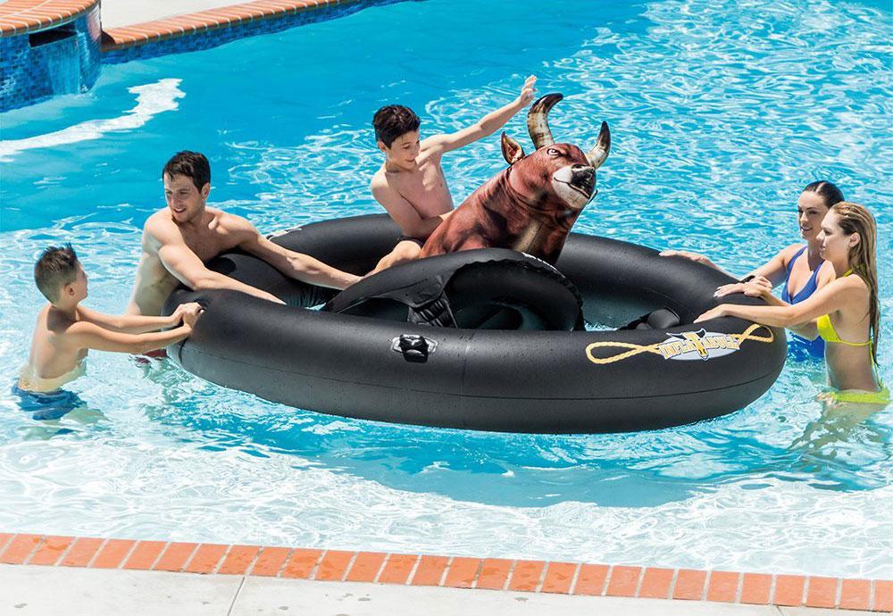 Intex Inflatabull Inflatable Pool Float